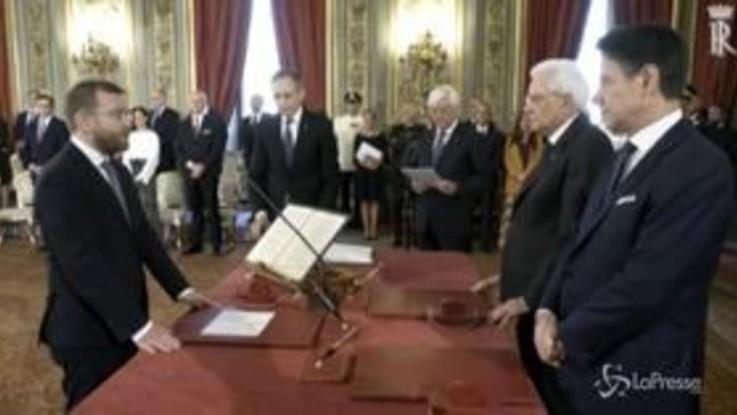 Giuramento, i volti meno noti del nuovo governo Conte