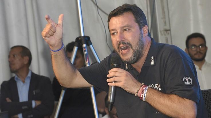 """Salvini: """"Ecco il primo esecutivo italiano nato a Bruxelles"""""""