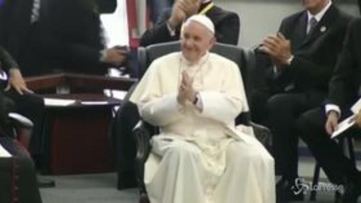 Mozambico, il Papa incontra i giovani a Maputo AFP