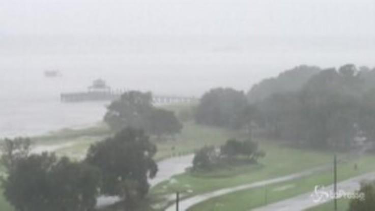 Dorian, il South Carolina sferzato dalle piogge