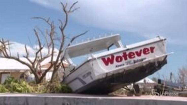 Dorian: la devastazione alle Bahamas, sopravvissuti iniziano la ricostruzione