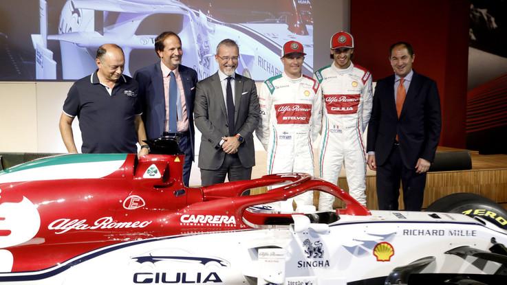 F1, Alfa Romeo Racing: una livrea speciale per il Gp di Monza