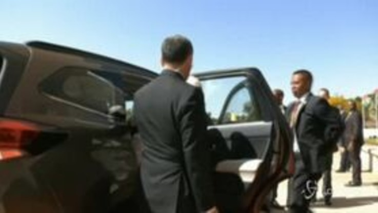 Madagascar, Papa Francesco arriva al palazzo presidenziale