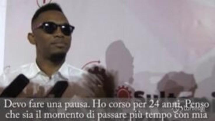Calcio, Samuel Eto'o si ritira a 38 anni