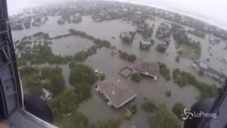 Uragano Dorian, allagamenti nella Carolina del Nord: le immagini dall'alto