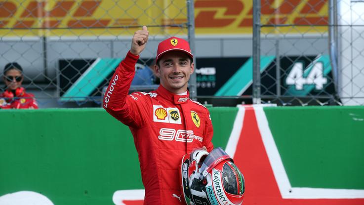 Gp d'Italia, Leclerc trionfa a Monza