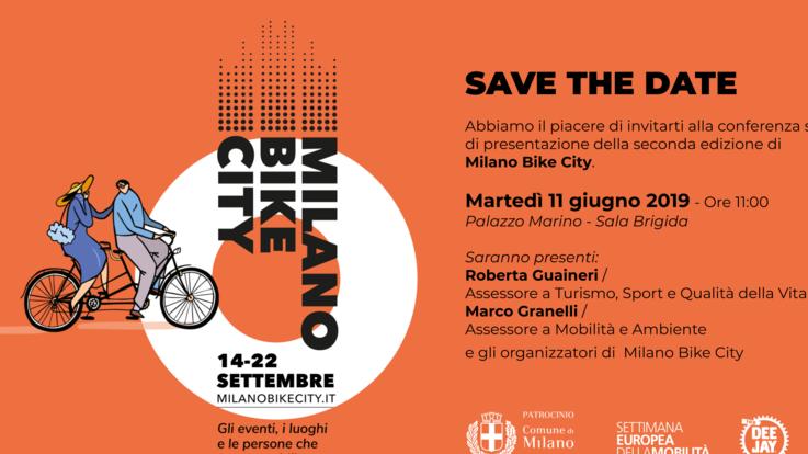 Torna dal 14 settembre  Milano Bike City