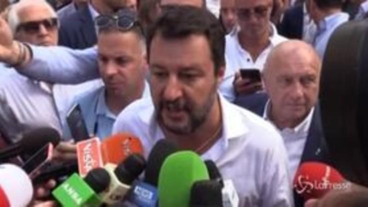 """Governo, Salvini su Di Maio: """"Passare dal Ministero del Lavoro a quello degli Esteri, o se un genio, o…"""""""