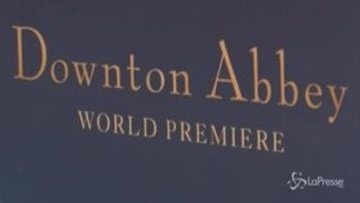 Downton Abbey, a Londra la prima mondiale del film