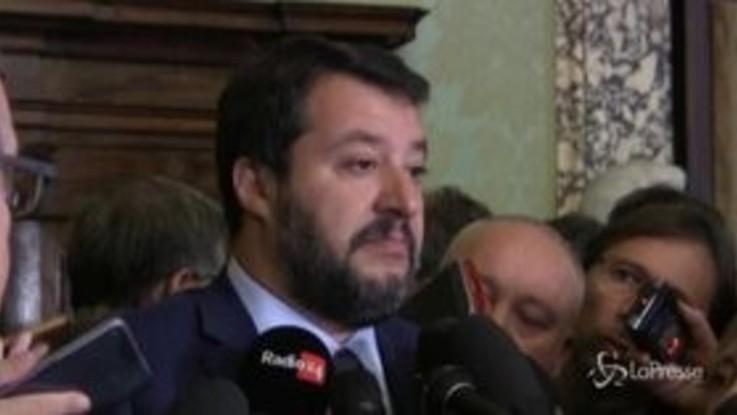 """Salvini: """"Conte è organico al potere, un nuovo Monti"""""""