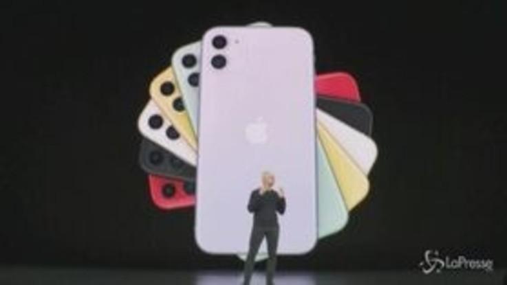 Apple lancia le novità, dalla Tv all'iPhone 11