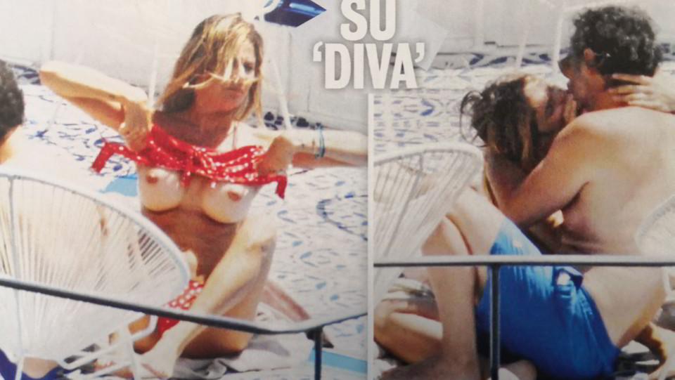 Eleonora Pedron e Fabio Troiano sulle pagine di Diva e Donna ©