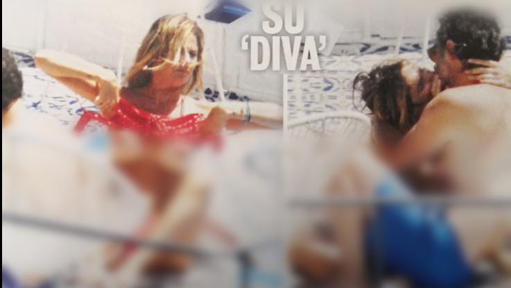 Amore e topless per Eleonora Pedron e Fabio Troiano a Pantelleria