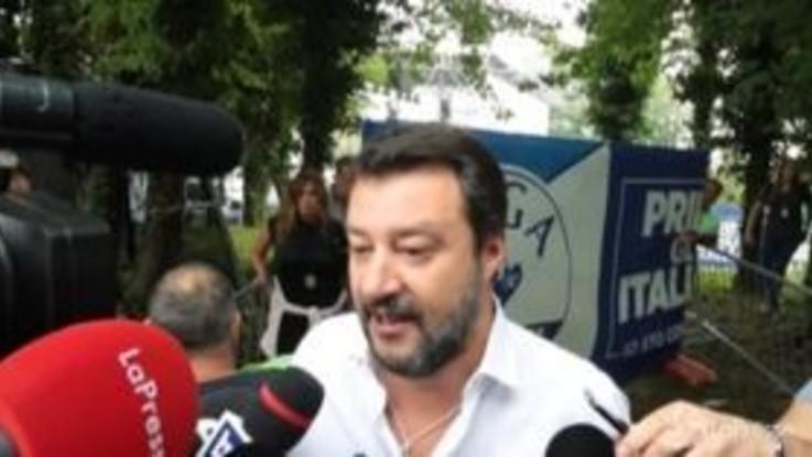 """Pontida, Salvini attacca M5s: """"Che triste fine per chi voleva la rivoluzione"""""""
