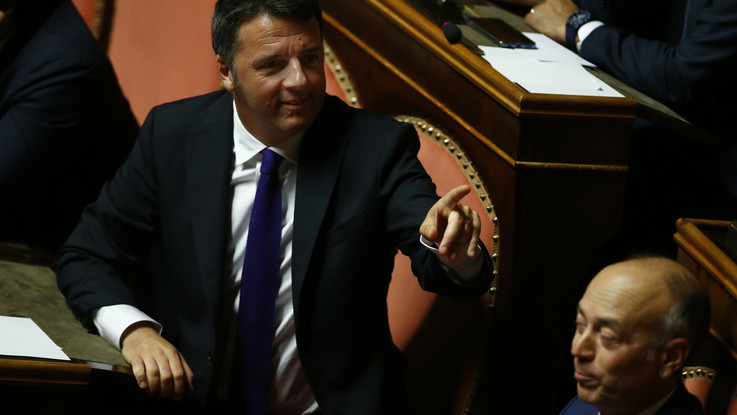 Matteo Renzi dice addioi al Partito Democratico