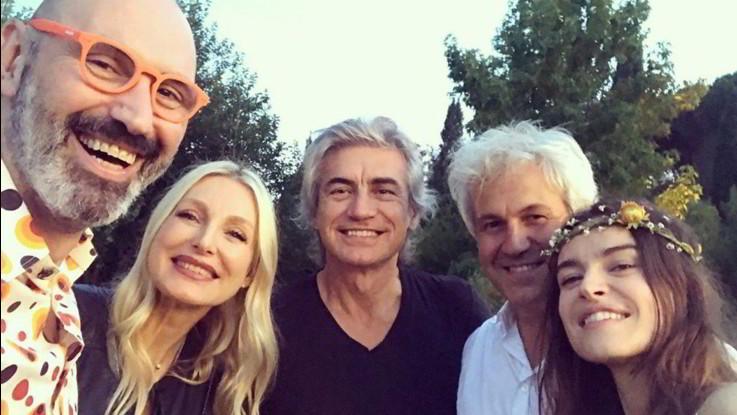Kasia Smutniak e Domenico Procacci sposi a sorpresa