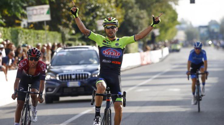 Giro della Toscana, Visconti batte Bernal in volata