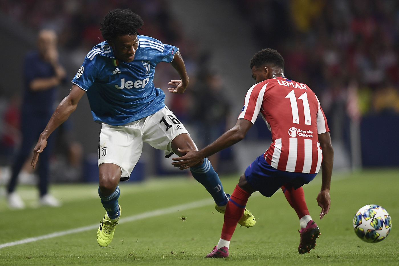 Champions League: la Juve pareggia a Madrid, Atalanta strapazzata a Zagabria