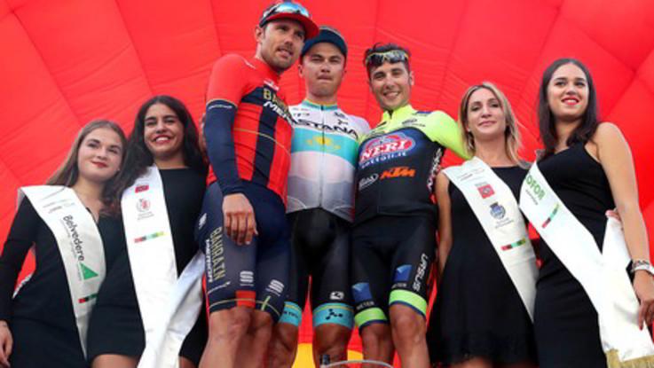 Ciclismo Cup, Lutsenko prende la Coppa Sabatini dopo 90 km di fuga