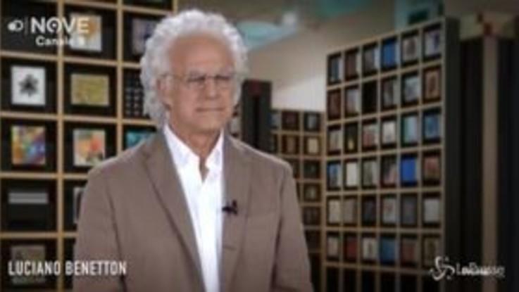 Maurizio Crozza è Luciano Benetton, sotto shock dopo le recenti intercettazioni