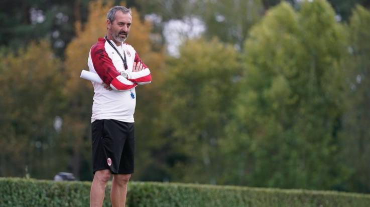 """Derby, Giampaolo: """"Voglio vincerlo giocando bene"""""""