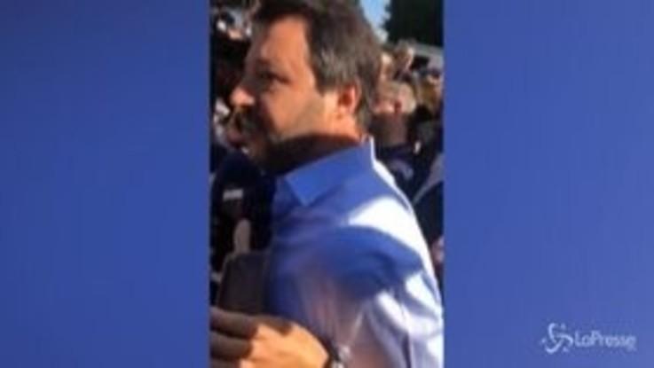 """Stadio San Siro, Salvini: """"Abbatterlo è un insulto a cultura e storia"""""""