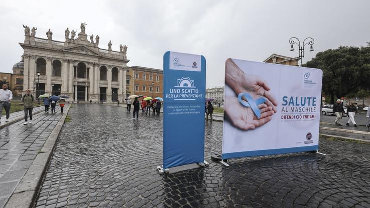 Fiat Professional e Fondazione Veronesi: il tour prevenzione maschile arriva a Roma