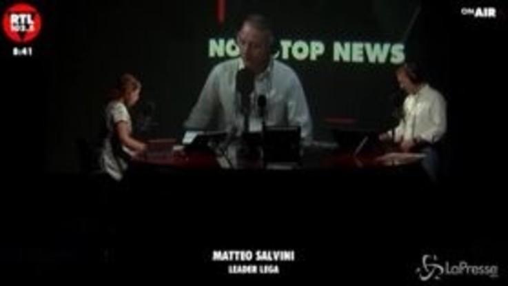 """Salvini: """"La tassa sulle merendine? L'Italia non ha bisogno di nuove demenziali tasse"""""""