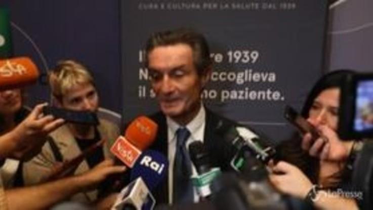 """80 anni Niguarda, Fontana: """"Su Autonomia ho studiato abbastanza"""""""