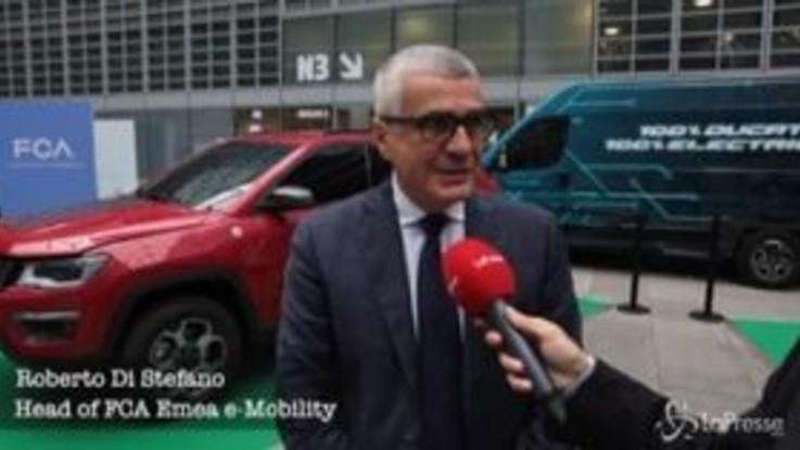 L'e-mobility Fca protagonista al festival della mobilità elettrica: 'Il futuro è adesso'