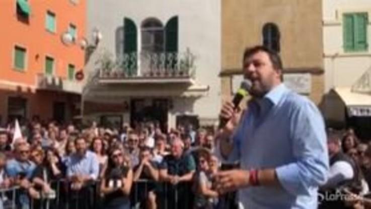 """Fridays for Future, Salvini: """"Il ministro Fioramonti giustifica bigiate di massa"""""""