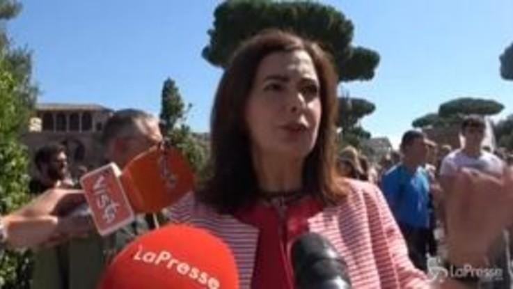 """Fridays For Future, Boldrini a Roma: """"Ci vuole un cambiamento radicale"""""""
