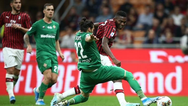 Milan in crisi nera, a San Siro vince la Fiorentina
