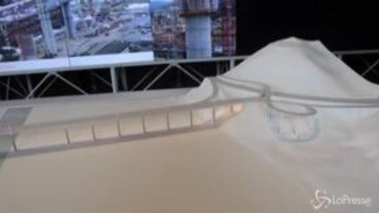 """A Genova apre """"Spazio Ponte"""", la mostra che segue la ricostruzione del viadotto"""