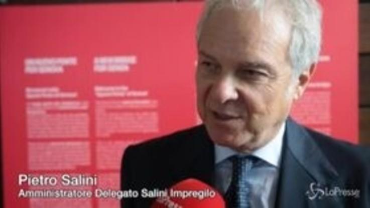 """Ponte Genova, Salini: """"La sicurezza prima di tutto, lavorare insieme per creare un futuro migliore"""""""