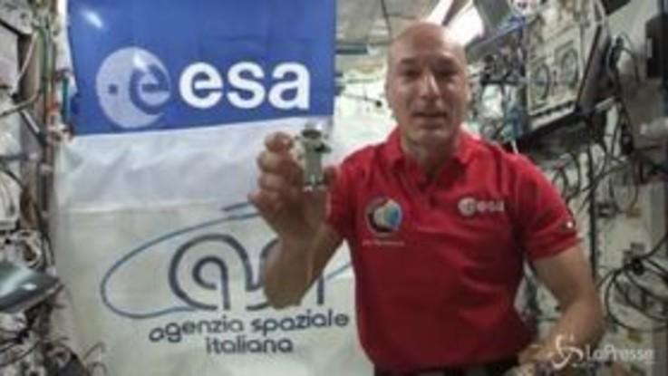 """Nuovo messaggio """"spaziale"""" di Parmitano: """"I sogni dei bambini possono diventare realtà"""""""