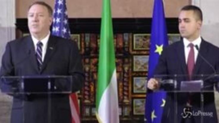 Usa, Pompeo: Telefonata Trump? Politica su Ucraina mai cambiata