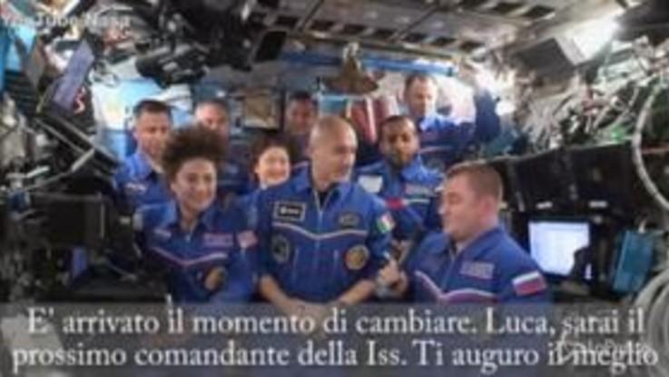 Passaggio di consegne sulla Iss, AstroLuca assume il comando della Stazione spaziale internazionale