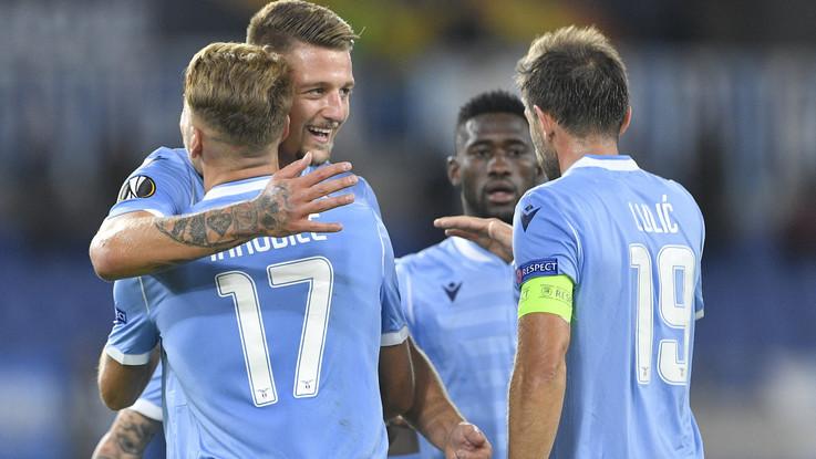 Europa League: Lazio ok, la Roma frena