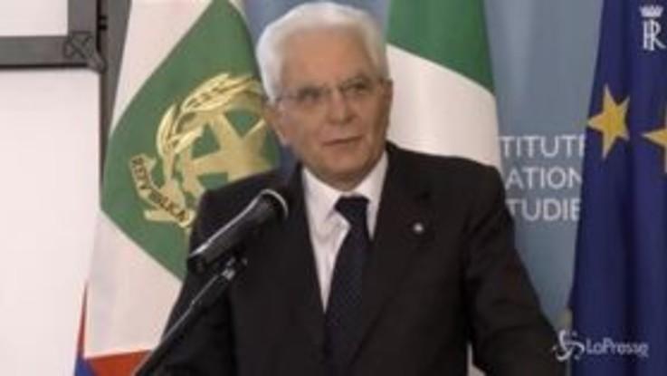 """Dazi, Mattarella: """"Serve responsabilità di tutti"""""""