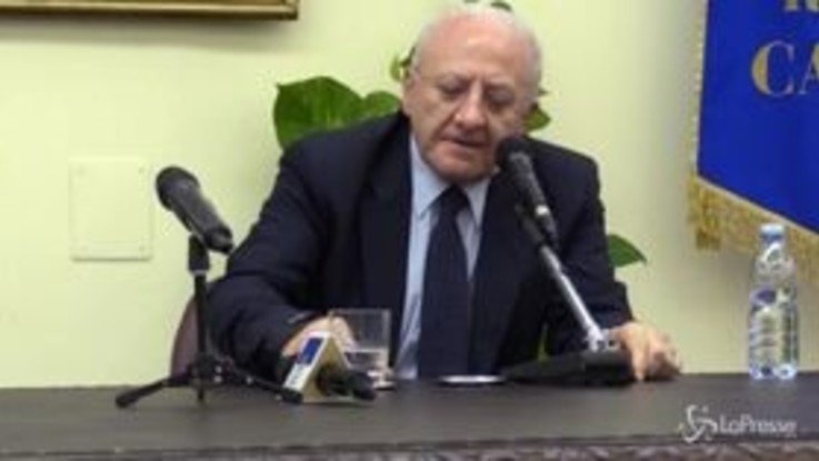 """Autonomia, De Luca: """"Impostazione di Boccia segna svolta radicale"""""""