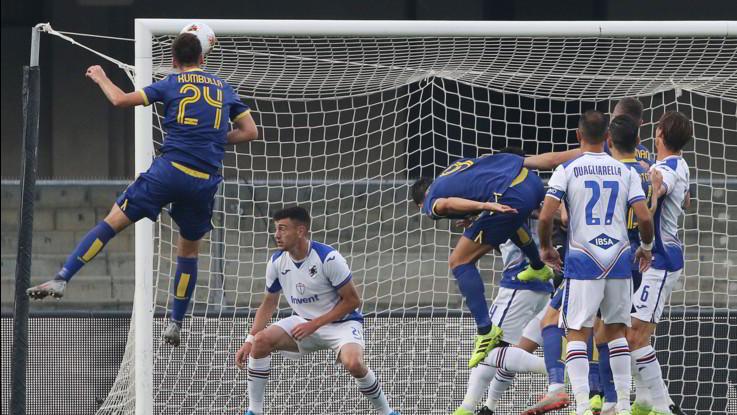Serie A: Verona-Sampdoria 2-0, blucerchiati sempre più ultimi
