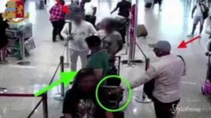 Furti ai turisti a Fiumicino, sgominata banda di 12 algerini