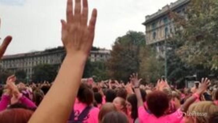 Lotta ai tumori: Milano si colora di rosa con la Pink Parade
