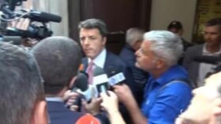 Governo, scintille fra il Dem Orlando e Matteo Renzi