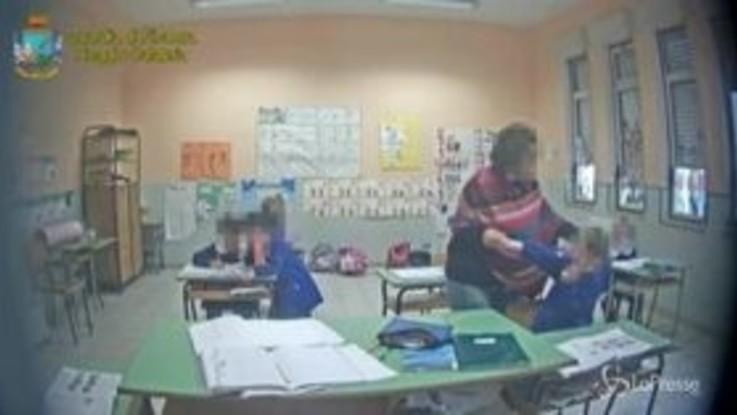 Botte e maltrattamenti, sospesa maestra elementare nel Reggino