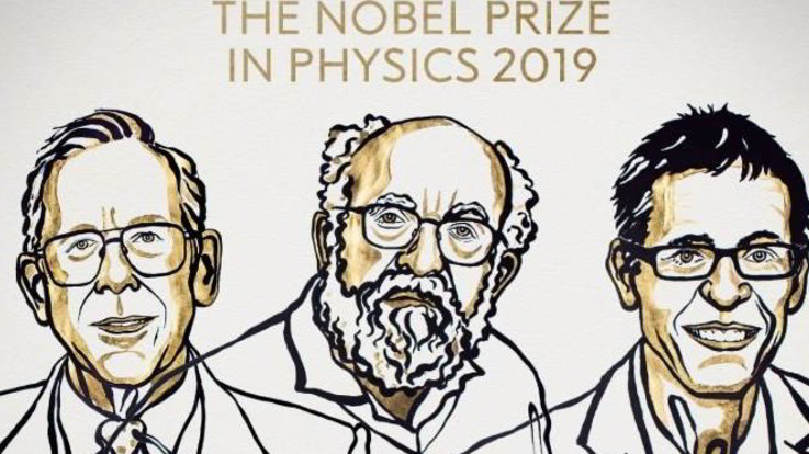 Nobel, premio per la Fisica a Peebles, Mayor e Queloz