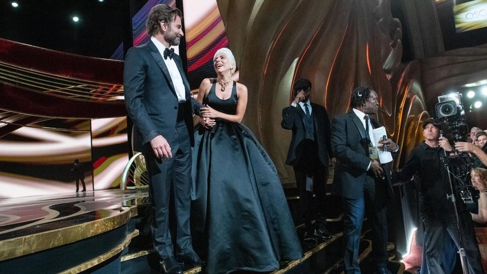 Cerimonia Oscar, Bradley Cooper e Lady Gaga ©