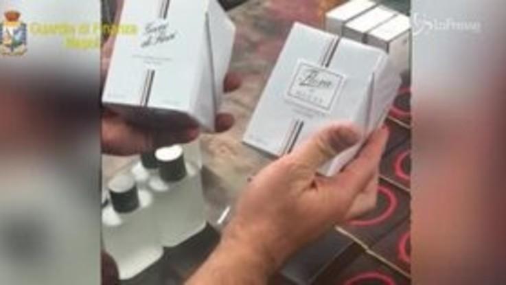 Sequestrato a Napoli laboratorio clandestino per la contraffazione dei profumi
