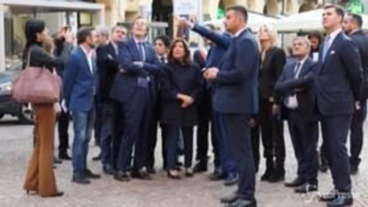 Piemonte, la presidente del Senato Casellati incontra il governatore Cirio